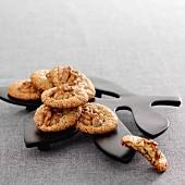 Walnut macaroons