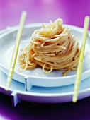Spaghetti with maitenko roe