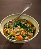 Spelt soup