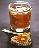 Apricot and almond jam