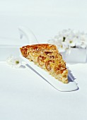 Cherry clafoutis with walnuts and Quinoa