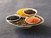Assorted lentils
