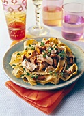 Tagliatelles with wild mushrooms