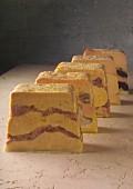 Assorted slices of Foie gras