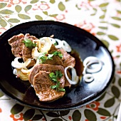 Braised beef with aniseed