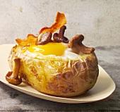 Baked Potato mit Spiegelei