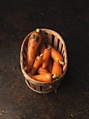 Hamper of carrots