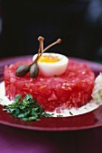 Coeur de boeuf tomato tartare