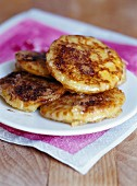 French toast-style blinis