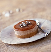 Guérande shortbread,chestnut and salted butter toffee dessert