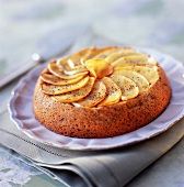 Apple and poppyseed cake