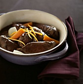 Boar Daube with orange zests