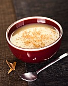 Apple,vanilla and cinnamon soup
