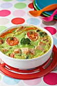 Turkey and broccoli bake
