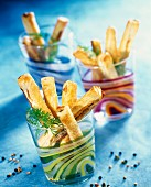 Anchovy flaky pastry fingers
