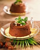 Chocolate and hazelnut Marquise