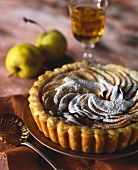 Apple and cider tartlet
