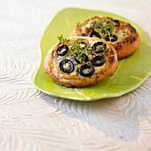 Mini olive Fougasse
