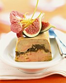Foie gras and fig terrine
