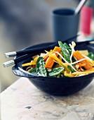 Gemüse aus dem Wok