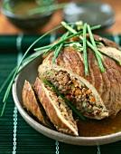 Oven-roasted veal brisket
