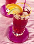 Americano (Cocktail mit rotem Vermouth und Campari)