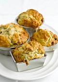 Small roquefort savoury cakes