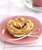 Individual cherry pie