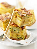 Potato tortilla appetizers