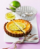 Lime tartlet