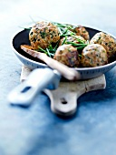 Veal and herb balls