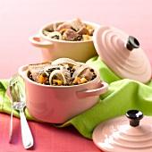 Petit salé with lentils