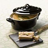 Chicken and pistachio terrine