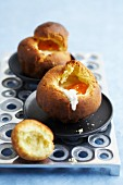 Coddled egg in an individual brioche