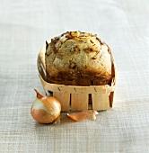 Onion bread loaf