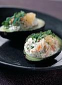 Sushi avocados