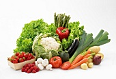 Fruit and vegetable composition