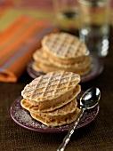 Cheesecake -style waffles