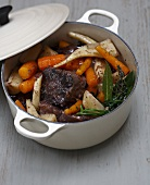 Beef,carrot and parsnip stew