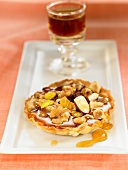 Dried fruit tartlet