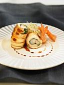 Chicken and shrimp rolls