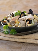 Seafood Blanquette