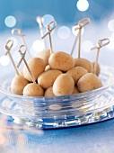 New potato appetizers