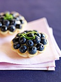 Bilberry tartlet