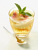Peach and Muscat soup