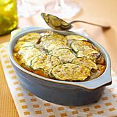Sicilian-style eggplant gratin
