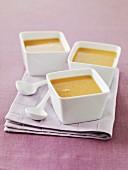 Cream of chickpea soup
