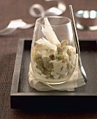 Artichoke and parmesan Verrine