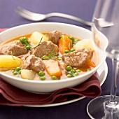Aveyron lamb spring stew