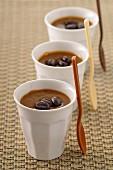 Coffee cream desserts